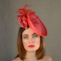 ESTHER orange saucer hat fasciantor